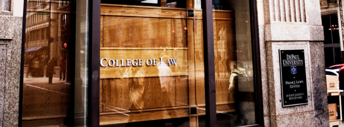 College of Law Admissions Office Exterior