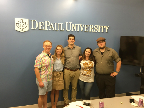 DePaul Law Entrepreneurship, innovation, & the law at 1871 Class
