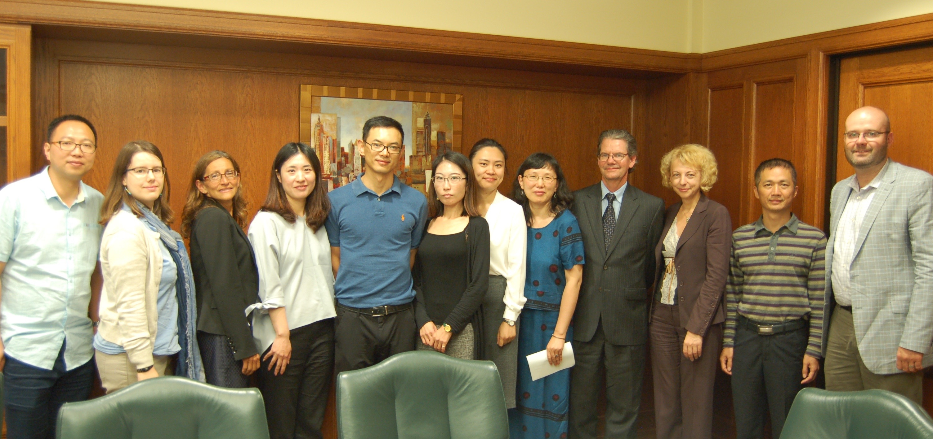 Chinese delegation visits DePaul Law