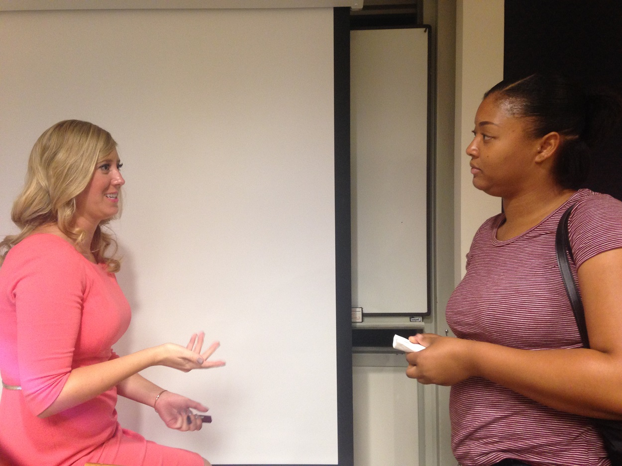 Alumna and Family Law Attorney Colleen Hurley speaks with 2L Candace Watkins about her interest in family law.