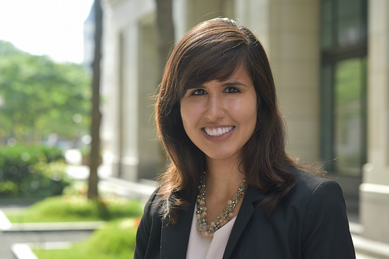 DePaul Law's Fadya Suleman, receipient of the Prettyman Fellowship
