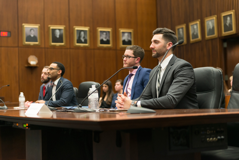 DePaul University 2017 National Cultural Heritage Law Moot Court Competition