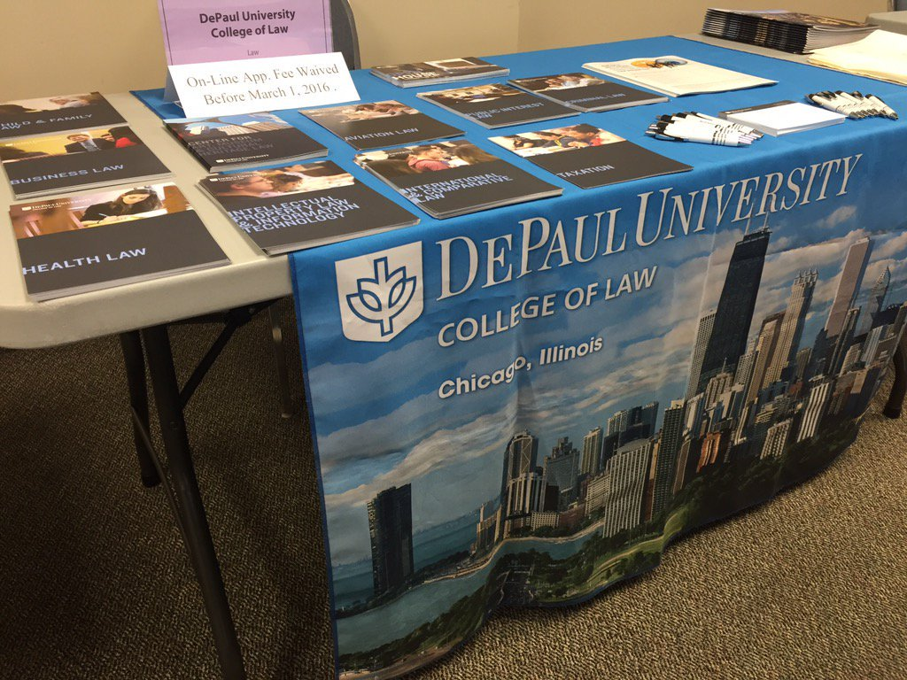 DePaul law on the road.